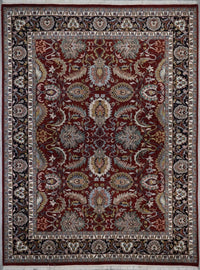 India Mahal Hand knotted Wool 9X12