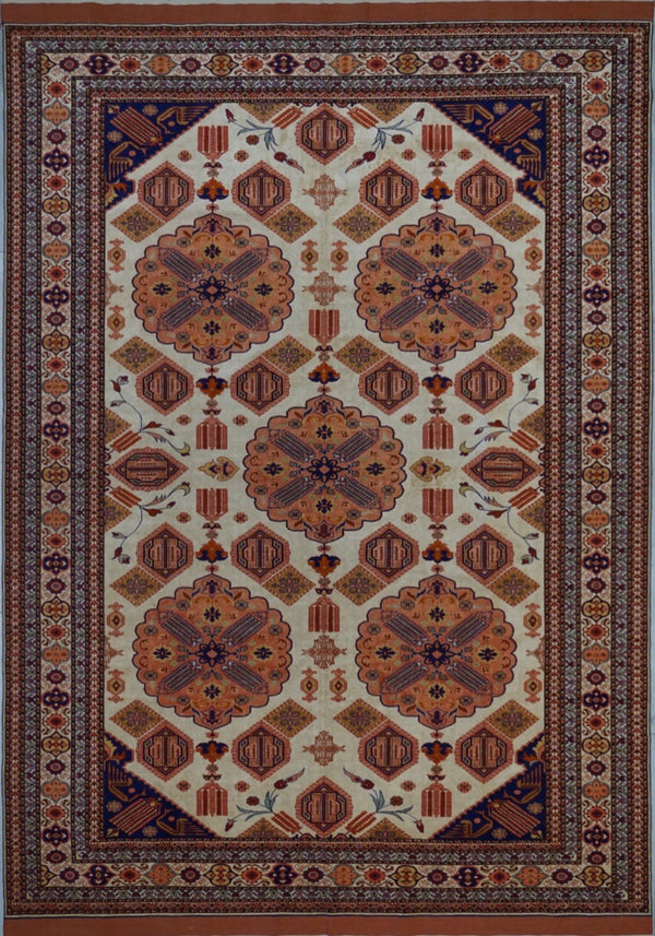 Afghanistan Kazak Hand knotted Silk 7X10