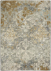 Karastan 8x11 Touchstone Moy Willow Grey
