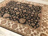 India Luxury  Hand Knotted Wool 8X10