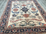Persian Heriz Hand Knotted Wool 8X10
