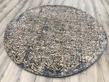 India Modern Amazon Hand Knotted Wool 6X6 Round