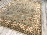 India Luxur Hand Knotted Wool 8X10