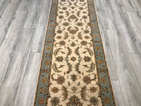 India Ziegler 2.7 x 15.11 Hand Knotted Wool