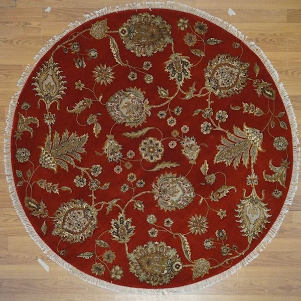 India Magnolia Jaipur Hand knotted Wool 6X6