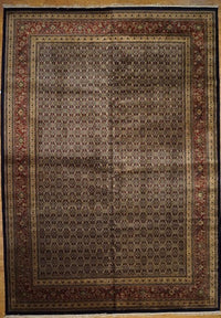 India Hand Knotted Wool 12x18