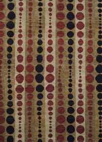 India Kinara Hand Knotted Wool  6x9