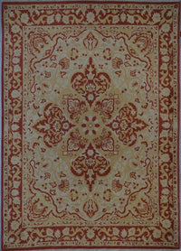China Oushak Hand Knotted Wool 8X10