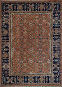 Turkish Heriz Hand Knotted Wool 8X10