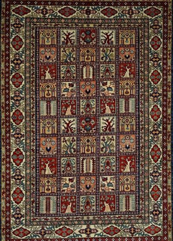 Pakistan Kazak Shirwan wool 5.6x8.6