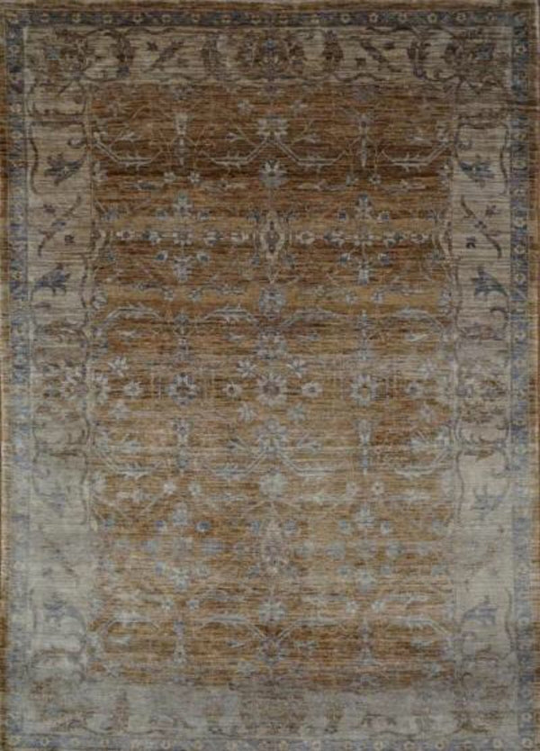 India Mahal Hand knotted Wool 6x9