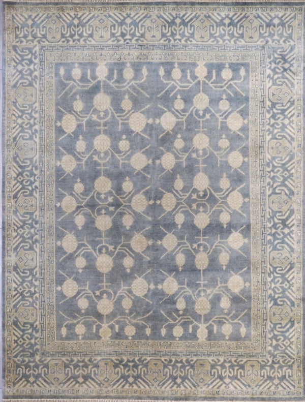 India Izmir Hand Knotted Wool 8X10
