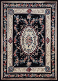 Chinese Aubusson Hand Knotted Wool 8X10