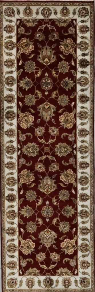 India Jaipur Hand Knotted Wool 3X8