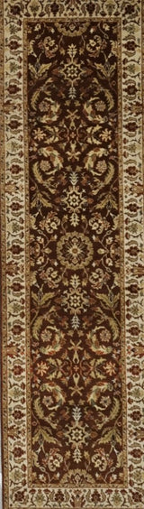 India Jaipur Hand Knotted wool 3x9