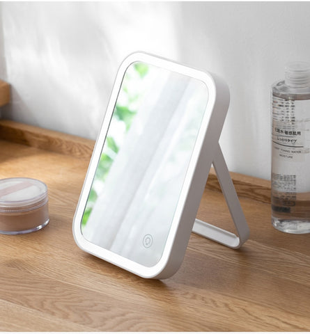 LED Lighted Desktop Makeup Vanity Mirror