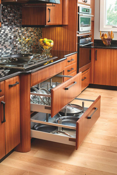 How To Optimize The 3 Zones Of Kitchen Storage
