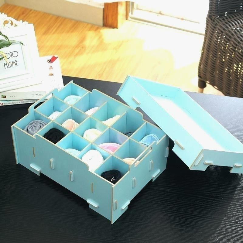 Engrossing Sock Drawer Organizer