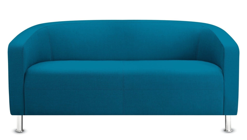 Scenic Teal Club Chair