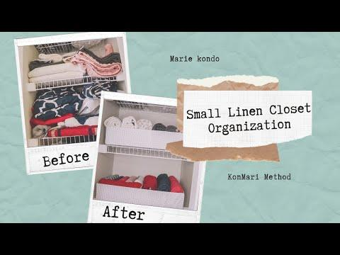 SMALL LINEN CLOSET ORGANIZATION 2019 | ORGANIZE AND DECLUTTER | CLEANING MOTIVATION