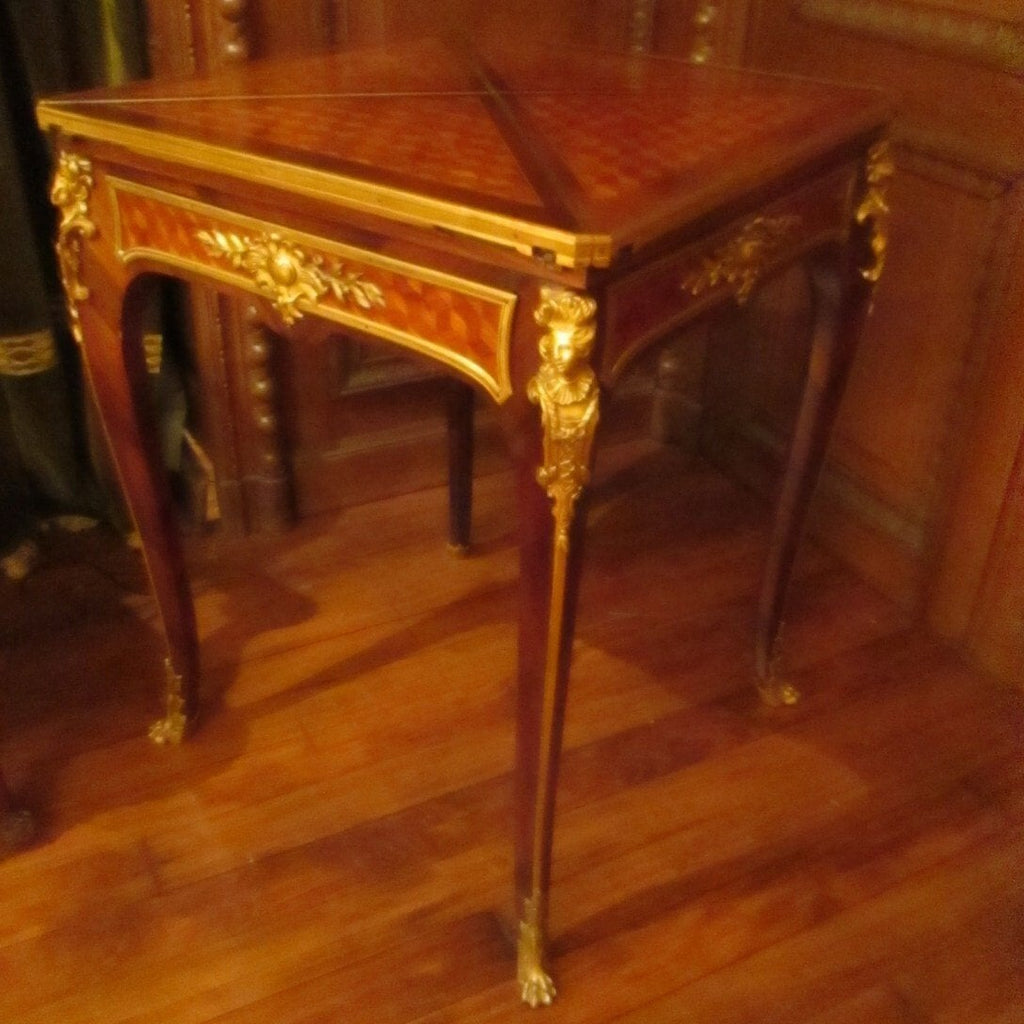Breathtaking Antique Game Table