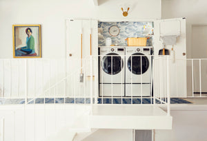 7 Ways to Make Your Tiny Laundry Closet Work Harder