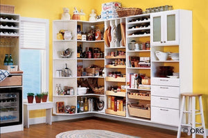 Mercilessly Beautiful Kitchen Closet Organizers