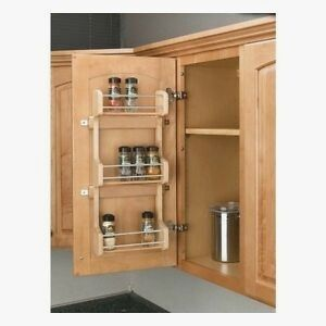 Beautiful Concept Cabinet Door Spice Rack
