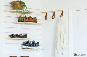 The entryway is the first space you and your guests see when you come home and when you leave and should look and feel inviting while at the same time offering sensible storage options for things like coats, shoes, keys and other items