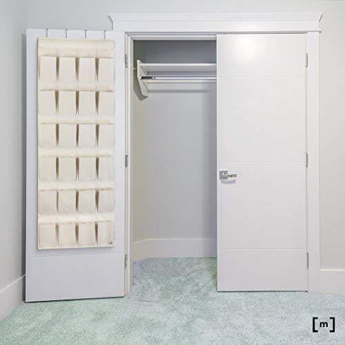 Results mindspace over the door shoe organizer rack hanging shoe organizer for closet for closet organization laundry room pantry bathroom organizer