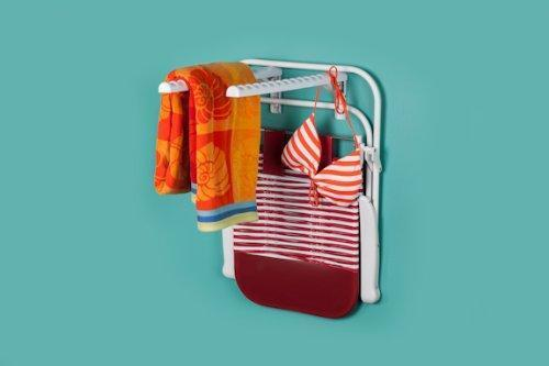 Featured hangerjack foldable hanger storage system for clothes and laundry closet organizer garage and ladder storage tool and extension cords and bike rack