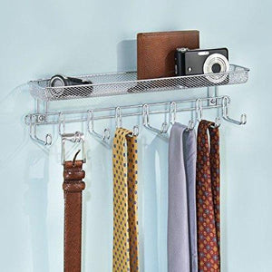 Shop for catenus closet wall mount accessory organizer for storage of ties belts watches glasses accessories
