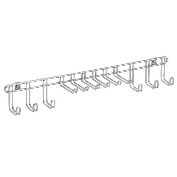 Try interdesign classico wall mount closet organizer rack for ties belts chrome
