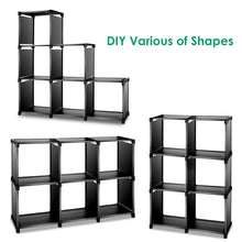Load image into Gallery viewer, Amazon tomcare cube storage 6 cube closet organizer shelves storage cubes organizer cubby bins cabinets bookcase organizing storage shelves for bedroom living room office black