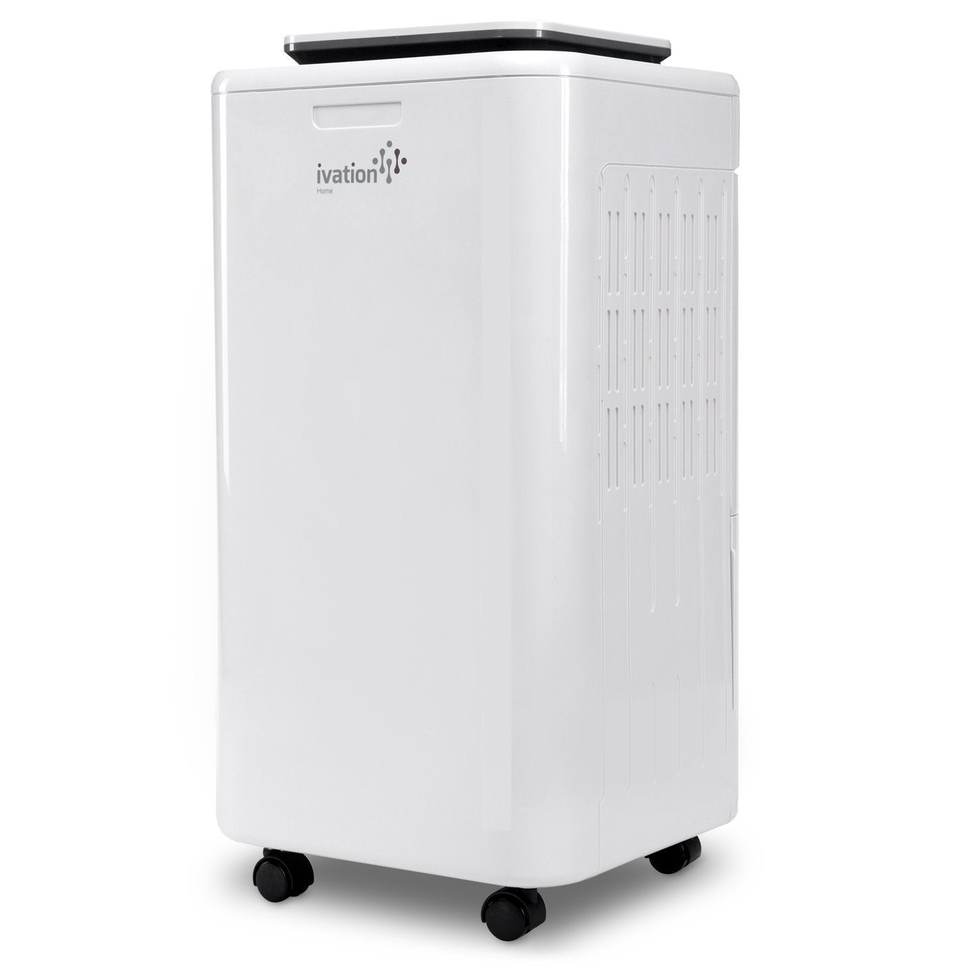 Best seller  ivation 11 pint small area compressor dehumidifier with continuous drain hose air purifier ionizer for smaller spaces bathroom attic crawlspace and closets for spaces up to 216 sq ft