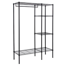 Load image into Gallery viewer, Top songmics extra large shelving garment rack heavy duty portable clothes wardrobe free standing closet storage organizer ulgr12p