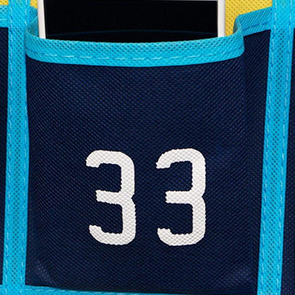 Save loghot numbered classroom sundries closet pocket chart for cell phones holder wall door hanging organizer blue 36 pockets with digital