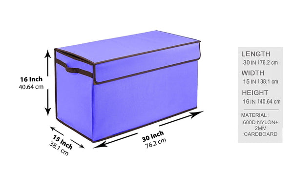 Select nice prorighty collapsible toy chest for kids xx large storage basket w flip top lid toys organizer bin for bedrooms closets child nursery store stuffed animals games clothes purple