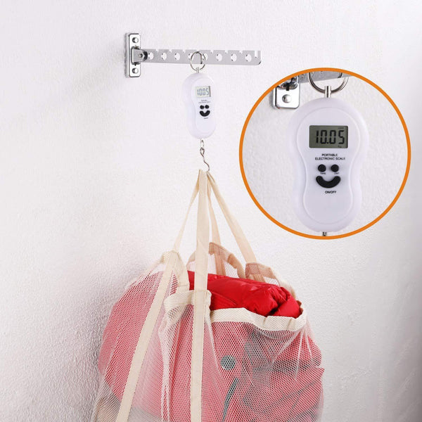 Shop for ashop wall mount clothes hanger rack wall clothes hanger stainless steel clothes hooks with swing arm holder closet organizers and storage 2 pack