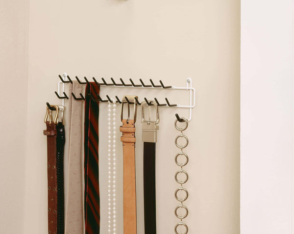 Featured closetmaid 8051 tie and belt rack white