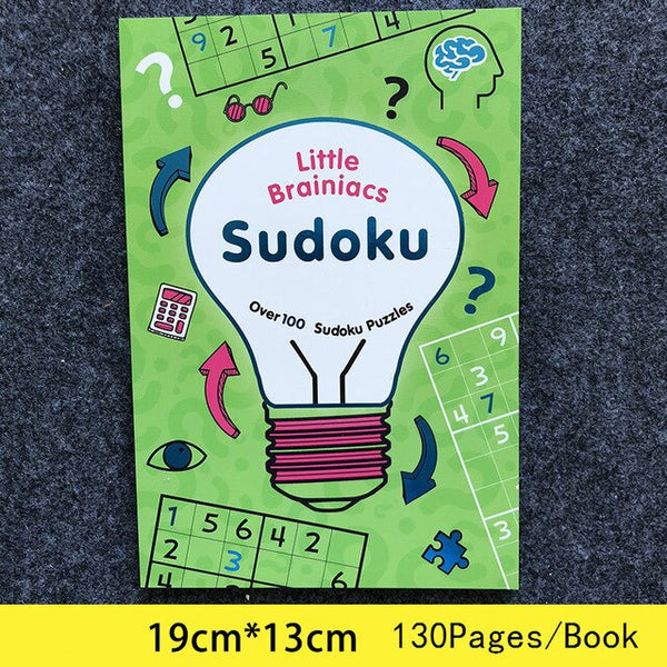 An interesting puzzle book Sudoku Thinking Game Book Children Play Smart Brain Number books kid new year gift