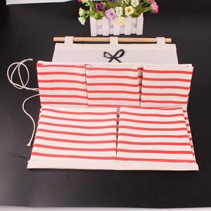 Door Wall Closet Organizer Bag Cosmetics Storage Containers Folding Bag