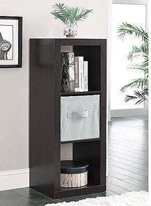 3-Cube Organizer, SET OF 2. Versatile, Shelf, Stacker, Organizer. Modern Storage Shelves, Closet Organizer SALE!! Ideal Shelves for Bedroom, Home Office or Anywhere. Color White or Espresso. You Will Use This Set Of Storage Shelves Over and Over. (Espress