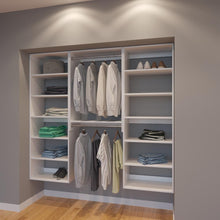 Load image into Gallery viewer, Modular Closets 6.5 ft Closet Organizer System - 78 inch - Style E
