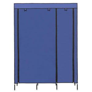 Save on yiilove stylish wardrobe storage portable clothes closet organizer with rollable wardrobe curtain for bedroom to storage clothes shoes blue