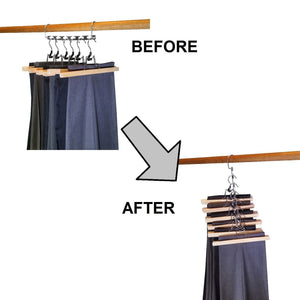 Budget friendly premium presents closet organizer hanger save space closet hanging organizer clothes hangers coat hangers for wardrobe closet and closet storage brand comparable to wonder hangers 9 pack