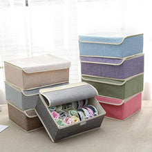 Load image into Gallery viewer, Underwear Socks Storage Container Closet Divider Box Two-in-one Storage Box
