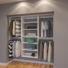 Load image into Gallery viewer, Modular Closets 6.5 ft Closet Organizer System - 78 inch - Style C