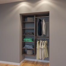 Load image into Gallery viewer, Modular Closets 4 Ft Closet Organizer System - 48 inch - Style F