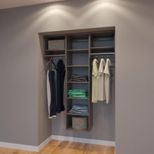 Load image into Gallery viewer, Modular Closets 4.5 FT Closet Organizer System - 54 inch - Style B
